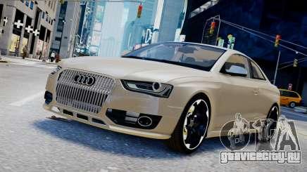 Audi RS4 B8 2013 v1 для GTA 4