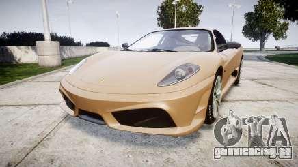 Ferrari F430 Scuderia 2007 plate F430 для GTA 4