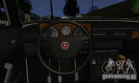 ГАЗ 3102 Волга - Шериф для GTA San Andreas вид сзади слева