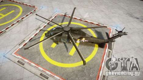Sikorsky MH-X Silent Hawk [EPM] Printemps для GTA 4 вид справа