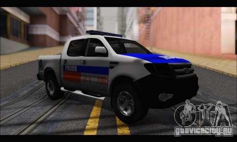 Ford Ranger P.B.A 2015 для GTA San Andreas