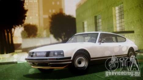 GTA 5 Lampadati Pigalle (IVF) для GTA San Andreas