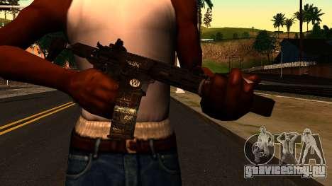 HoneyBadger from CoD Ghosts v2 для GTA San Andreas третий скриншот