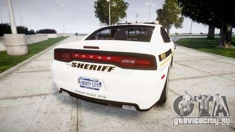 Dodge Charger 2013 Sheriff [ELS] v3.2 для GTA 4