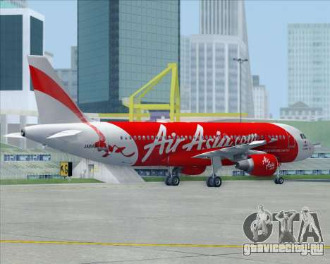 Airbus A320-200 Air Asia Japan для GTA San Andreas салон