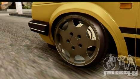 Volkswagen Jetta A2 Coupe для GTA San Andreas