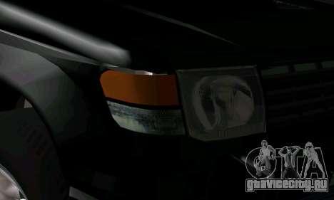 Mitsubishi Pajero Intercooler Turbo 2800 для GTA San Andreas