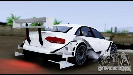 Audi A4 2008 Touring для GTA San Andreas вид слева