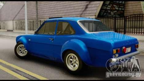 Ford Escort Mark 1 1970 для GTA San Andreas вид слева