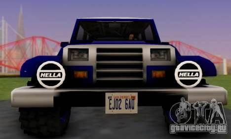 Messa Off-Road Styling pack v1 для GTA San Andreas вид сзади