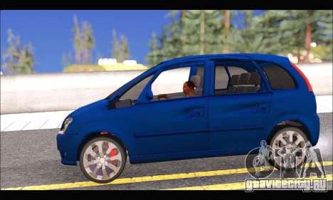 Chevrolet Meriva для GTA San Andreas вид слева