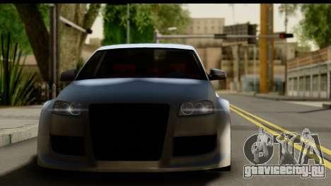 Audi A3 Tuning для GTA San Andreas вид сзади слева