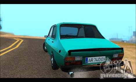 Dacia 1310 DOX для GTA San Andreas вид сзади слева