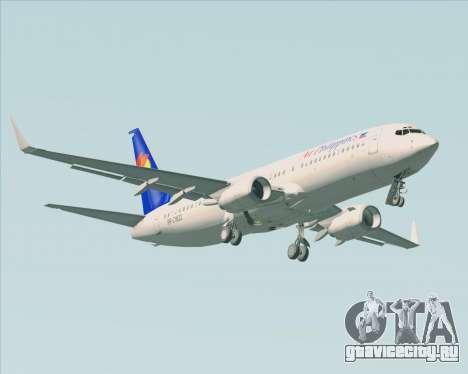 Boeing 737-800 Air Philippines для GTA San Andreas двигатель