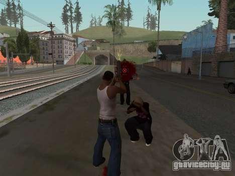 Blood Effects для GTA San Andreas
