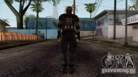 Resident Evil Skin 7 для GTA San Andreas второй скриншот