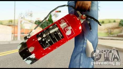 Fire Extinguisher with Blood для GTA San Andreas третий скриншот