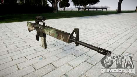 Винтовка M16A2 [optical] woodland для GTA 4