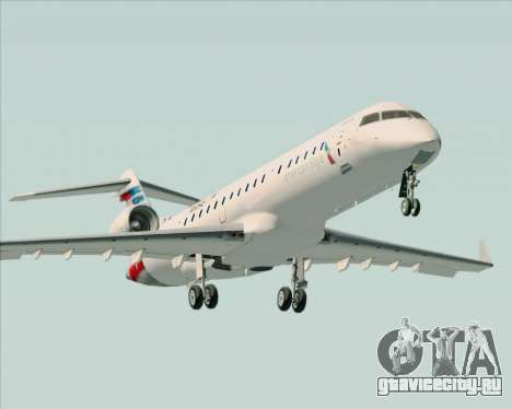 Bombardier CRJ700 American Eagle Airlines для GTA San Andreas двигатель