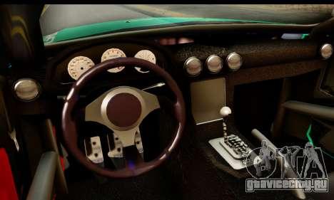 Ford Mustang Falken для GTA San Andreas вид сзади слева