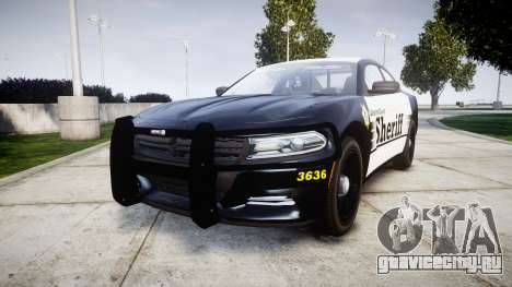 Dodge Charger 2015 County Sheriff [ELS] для GTA 4