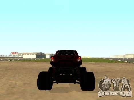 SuperMotoXL Zen MaXXimus CD 17.1 XL-HT для GTA San Andreas вид справа