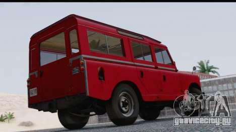 Land Rover Series IIa LWB Wagon 1962-1971 для GTA San Andreas вид слева