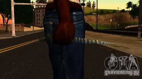 Новогодний Нож для GTA San Andreas третий скриншот
