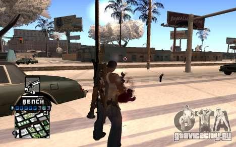 C-HUD Bench для GTA San Andreas второй скриншот