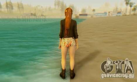 Kasumi Casual для GTA San Andreas