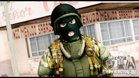 Support Troop from Battlefield 4 v1 для GTA San Andreas третий скриншот