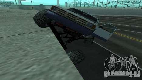 Новая физика машин v2 для GTA San Andreas третий скриншот
