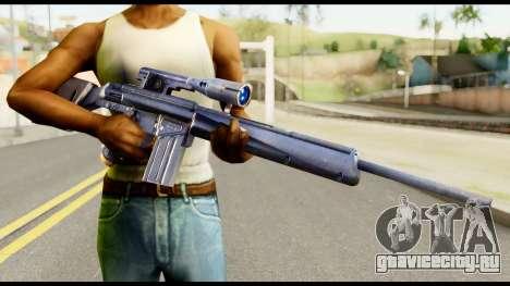PSG1 from Metal Gear Solid для GTA San Andreas третий скриншот