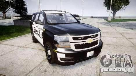 Chevrolet Tahoe 2015 County Sheriff [ELS] для GTA 4