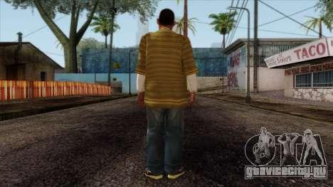GTA 4 Skin 73 для GTA San Andreas второй скриншот