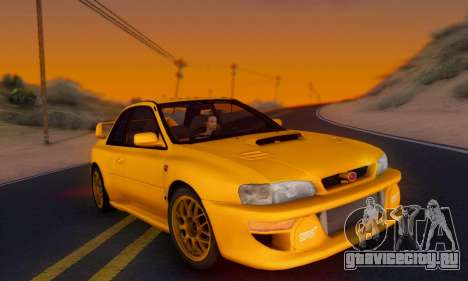Subaru Impreza 22B STI (KATIL) для GTA San Andreas