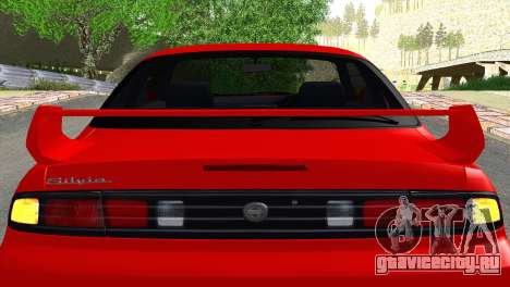 Nissan Silvia S14 Ks для GTA San Andreas вид изнутри