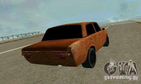 ВАЗ 2101 Ratlook v2 для GTA San Andreas вид изнутри