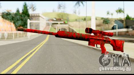Sniper Rifle with Blood для GTA San Andreas