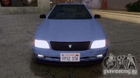 GTA V Ingot для GTA San Andreas вид справа