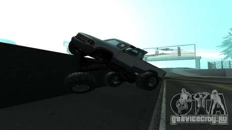 Новая физика машин v2 для GTA San Andreas второй скриншот