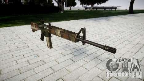 Винтовка M16A2 erdl для GTA 4