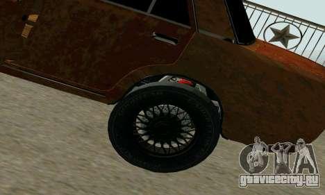 ВАЗ 2101 Ratlook v2 для GTA San Andreas вид справа