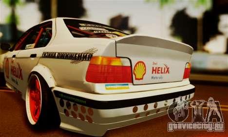 BMW M3 E36 Darnitsa Bandits для GTA San Andreas вид сзади