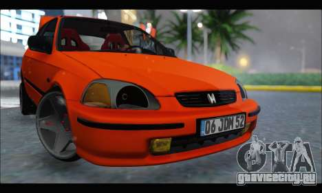Honda Civic HB (JDM Family) для GTA San Andreas вид слева