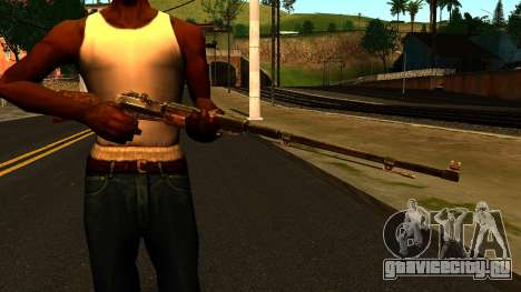 Вентиль (Metro: Last Light) для GTA San Andreas третий скриншот