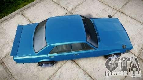 Nissan Skyline 2000GT для GTA 4 вид справа