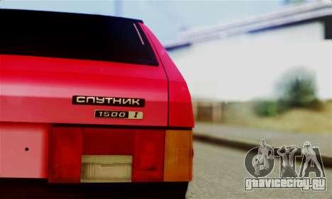 ВАЗ 2108 Бродяга для GTA San Andreas вид справа