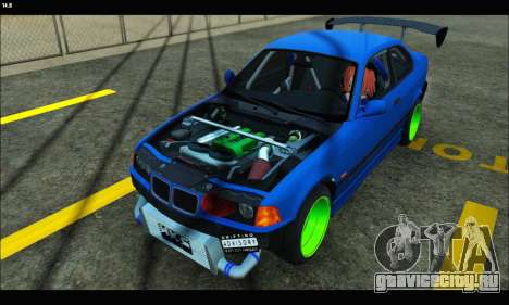 BMW e36 Drift Edition Final Version для GTA San Andreas
