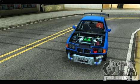 BMW e36 Drift Edition Final Version для GTA San Andreas вид справа